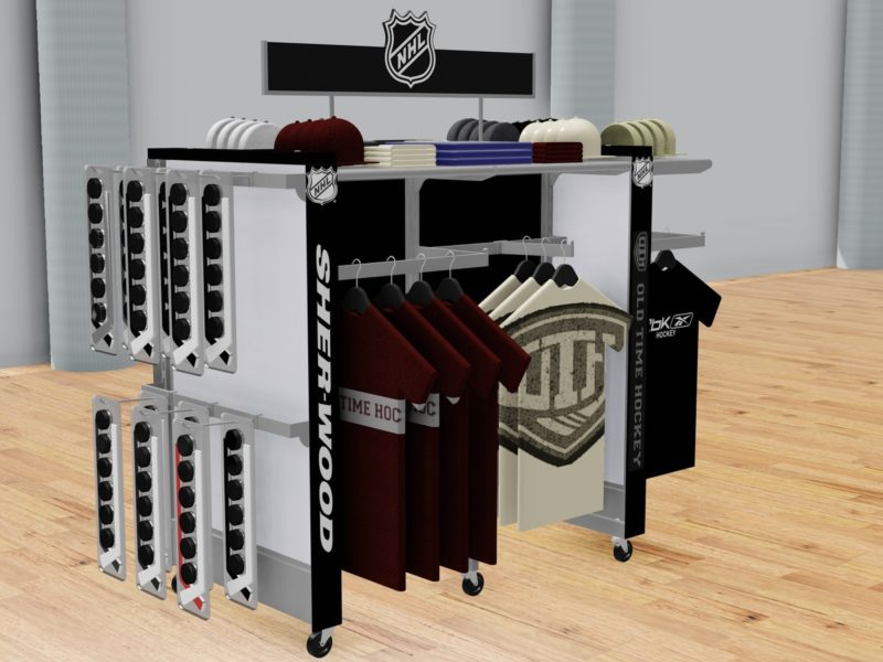 P-O-P display – Sports goods