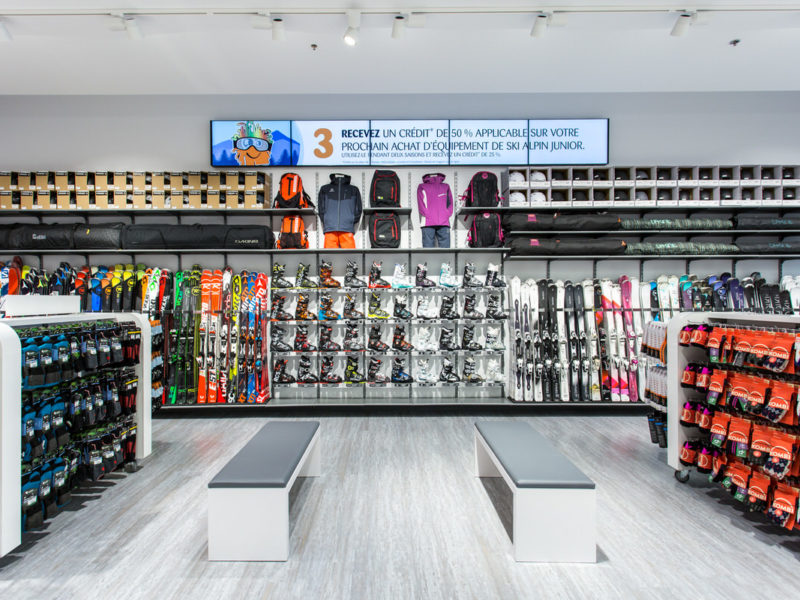 Store planning – Sports retail store